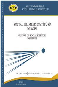 Journal of Social Sciences Institute