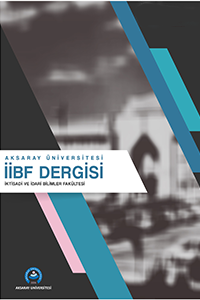 Journal of Aksaray University Faculty of Economics and Administrative Sciences