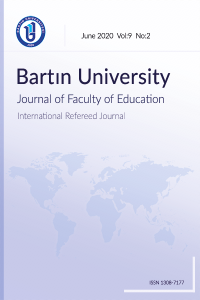Bartın University Journal of Faculty of Education