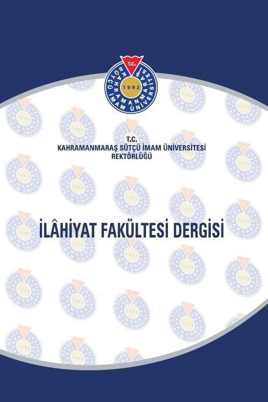 The University of Kahramanmaraş Sütçü İmam Review of The Faculty of Theology
