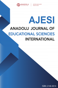 Anadolu Journal of Educational Sciences International