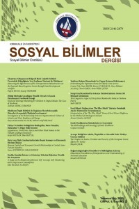 Kırıkkale University Journal of Social Sciences