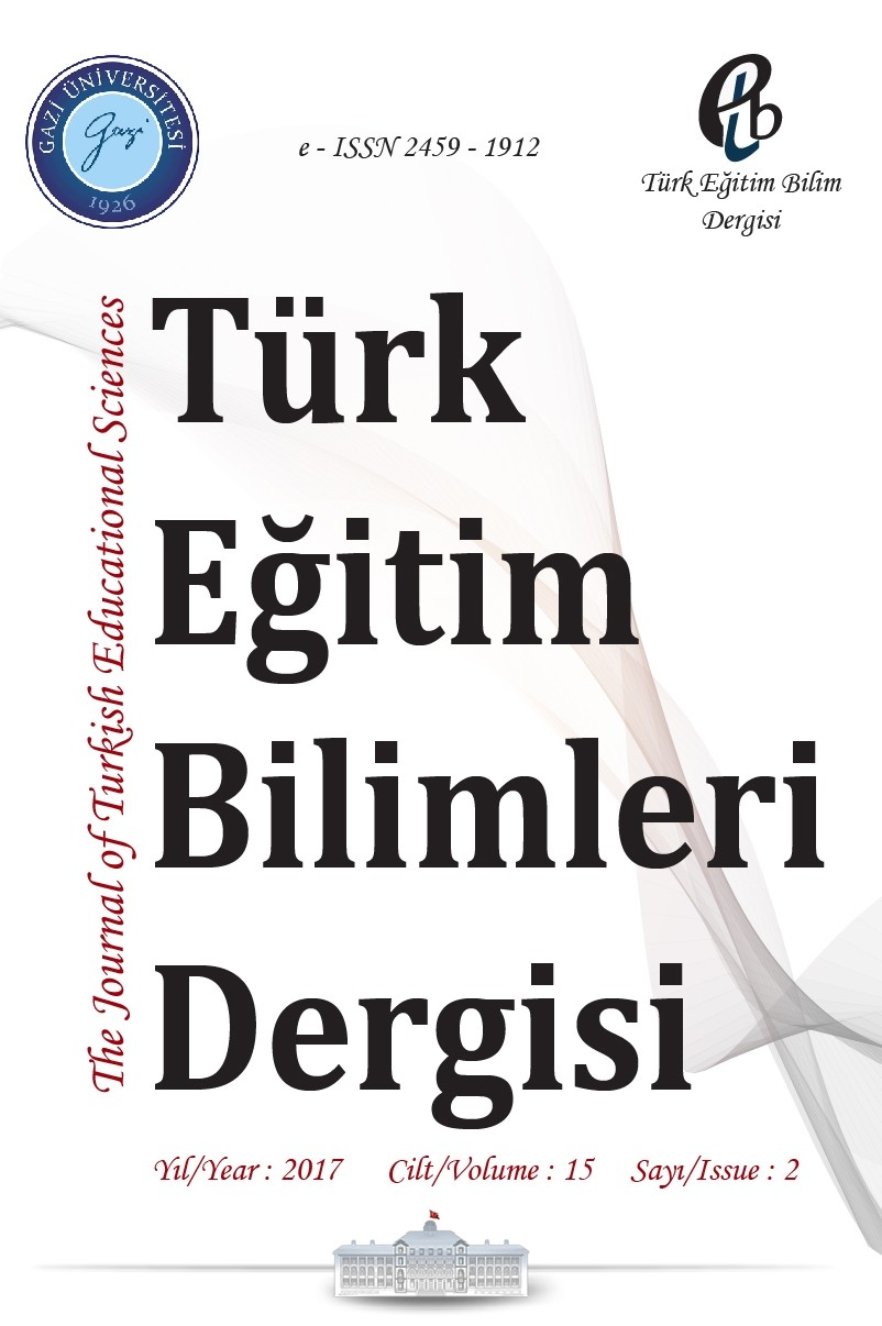 The Journal of Turkish Educational Sciences