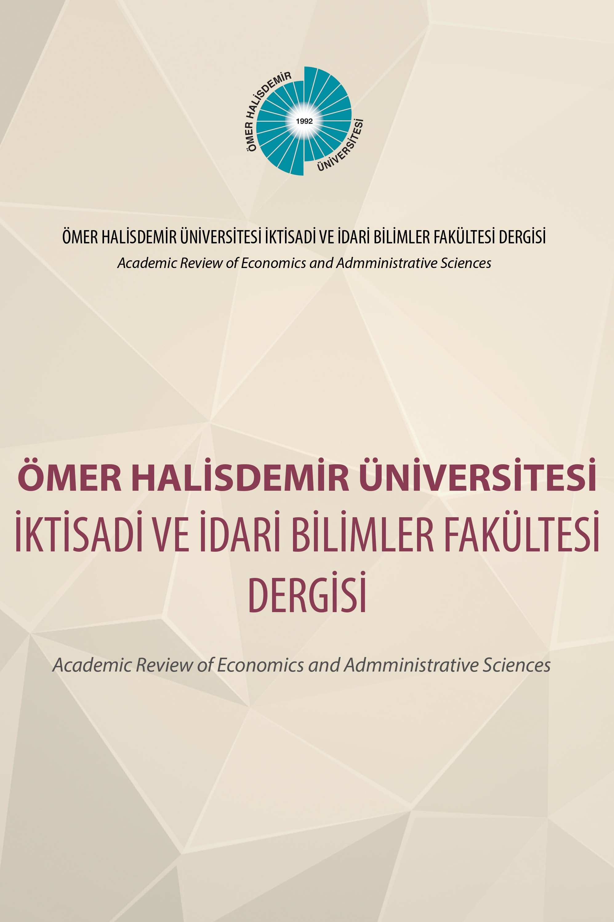 Academic Review of Economics and Administrative Sciences