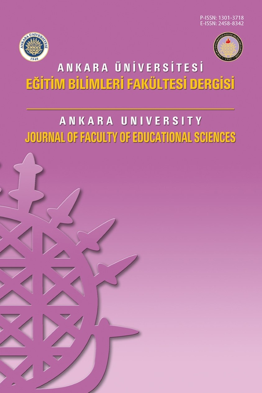 Ankara University Journal of Faculty of Educational Sciences (JFES)