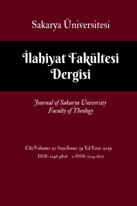 Journal of Sakarya University Faculty of Theology