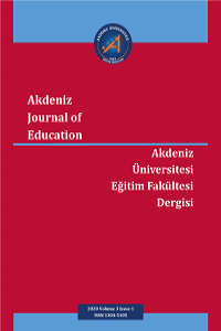 Akdeniz Journal of Education