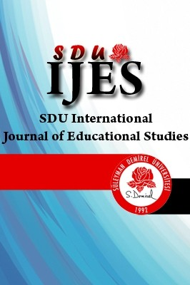 SDU International Journal of Educational Studies