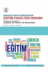 Ondokuz Mayis University Journal of Education Faculty