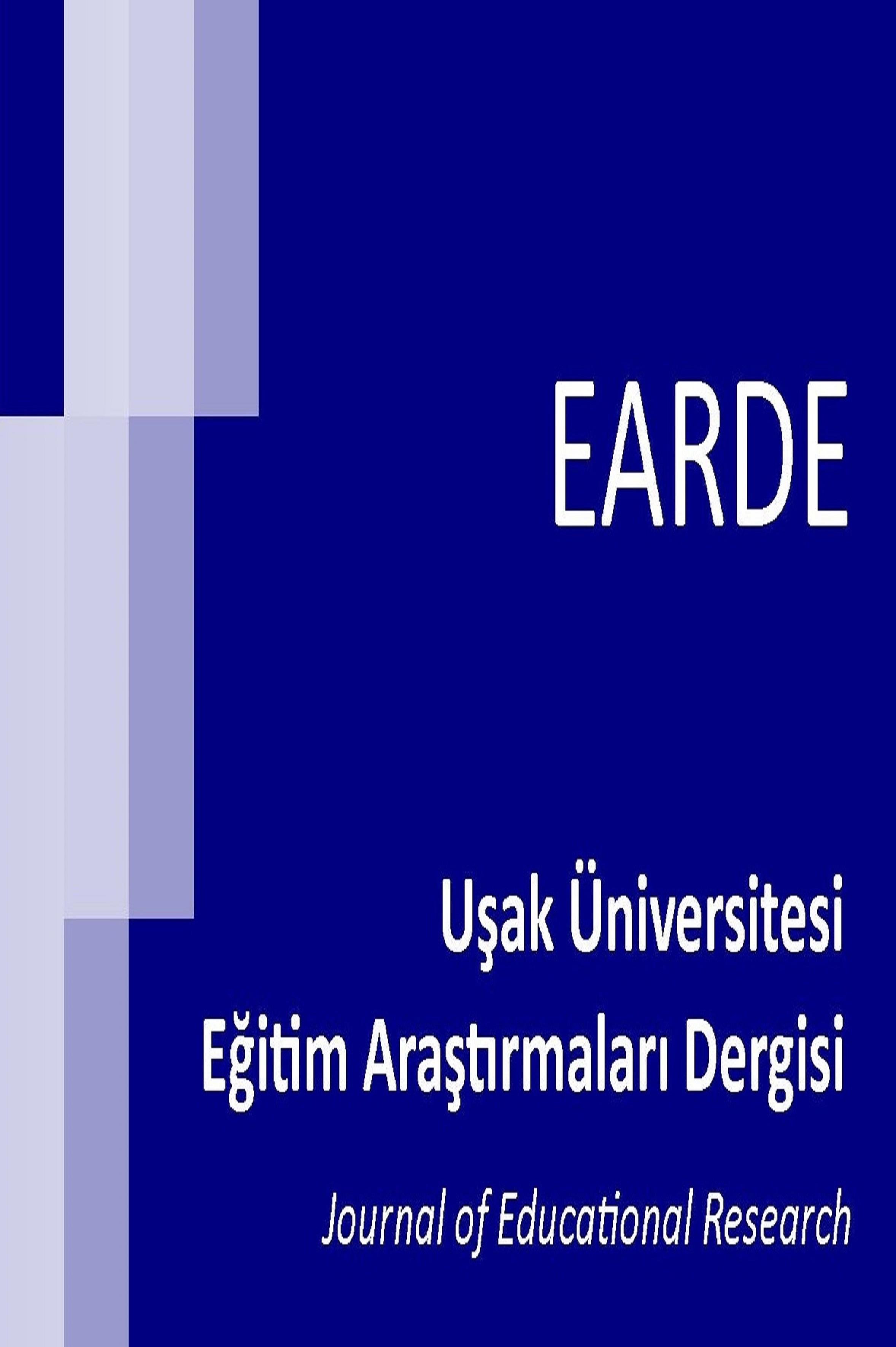 Uşak Üniversitesi Eğitim Araştırmaları Dergisi